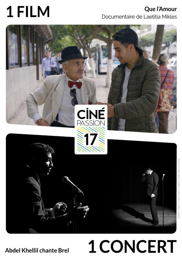 Affiche Ciné Passion 17 Que L'Amour